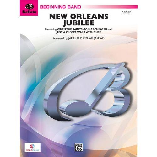 ALFRED PUBLISHING PLOYHAR JAMES D. - NEW ORLEANS JUBILEE - SYMPHONIC WIND BAND
