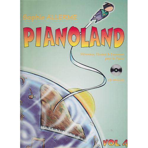LEMOINE ALLERME SOPHIE - PIANOLAND VOL.4 + CD