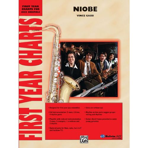 ALFRED PUBLISHING GASSI VINCE - NIOBE - JAZZ BAND
