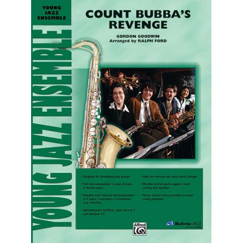 ALFRED PUBLISHING GOODWIN GORDON - COUNT BUBBA'S REVENGE - JAZZ BAND