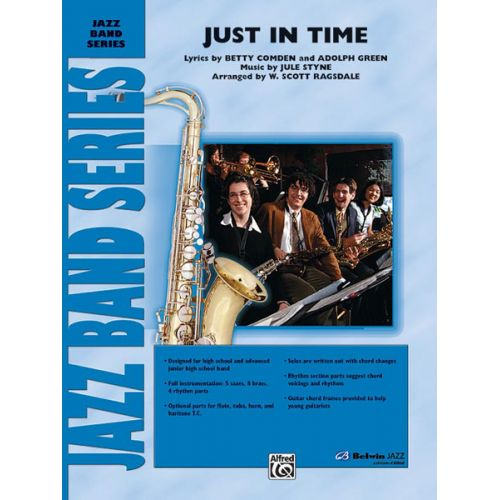 ALFRED PUBLISHING RAGSDALE W. SCOTT - JUST IN TIME - JAZZ BAND