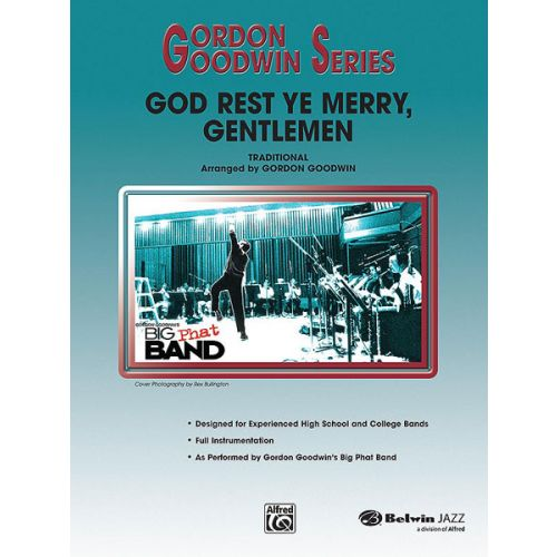 ALFRED PUBLISHING GOODWIN GORDON - GOD REST YE MERRY, GENTLEMEN - JAZZ BAND