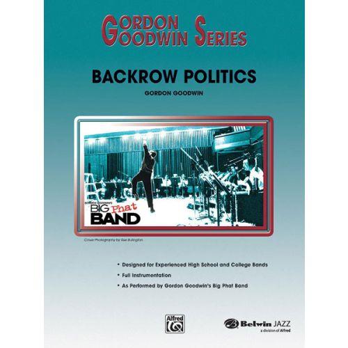 ALFRED PUBLISHING GOODWIN GORDON - BACKROW POLITICS - JAZZ BAND