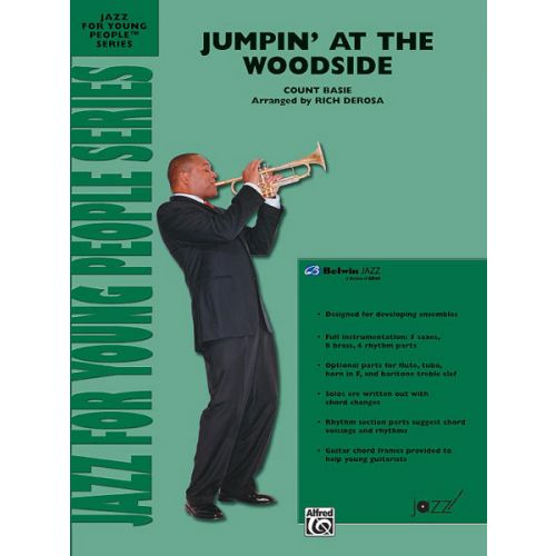 ALFRED PUBLISHING BASIE COUNT - JUMPIN' AT THE WOODSIDE - JAZZ BAND