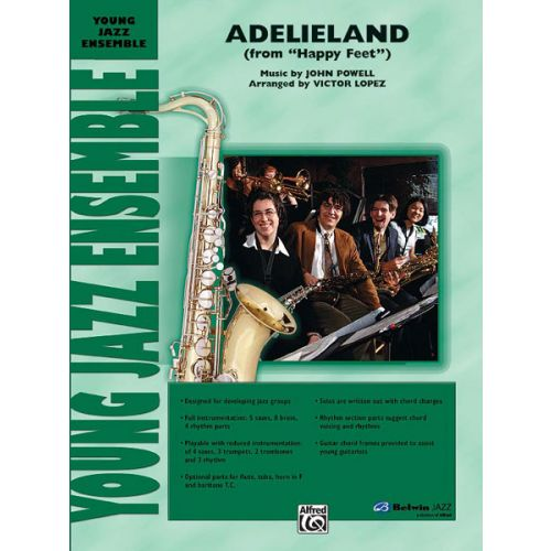 ALFRED PUBLISHING POWELL JOHN - ADELIELAND - JAZZ BAND