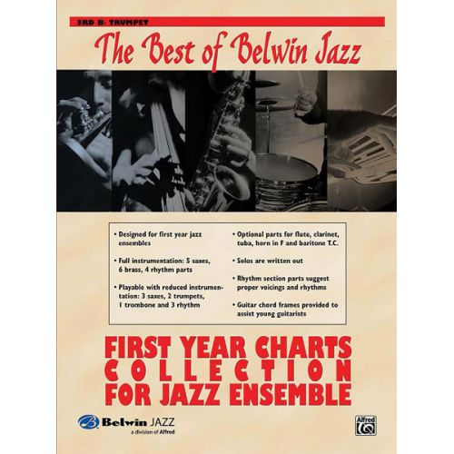 ALFRED PUBLISHING BEST OF BELWIN: FIRST YEAR CHARTS - TRUMPET 3