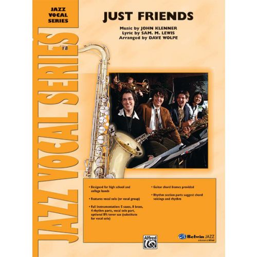 ALFRED PUBLISHING WOLPE DAVE - JUST FRIENDS - VOICE