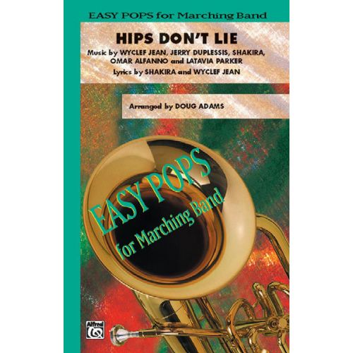 ALFRED PUBLISHING ADAMS DOUG - HIPS DON'T LIE - SCORE AND PARTS
