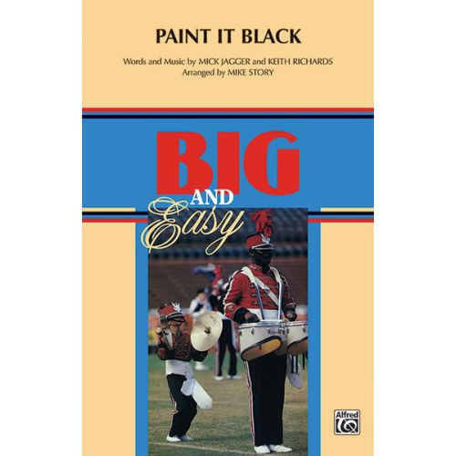 ALFRED PUBLISHING STORY MICHAEL - PAINT IT BLACK - SCORE AND PARTS