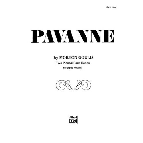 ALFRED PUBLISHING PAVANNE - PIANO SOLO