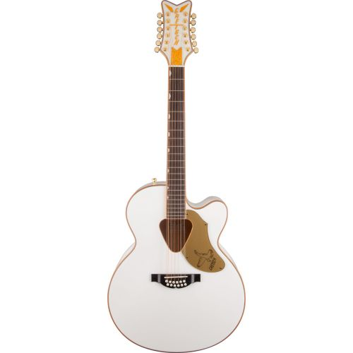 GRETSCH GUITARS G5022CWFE 12 FALCON WHITE CUTAWAY