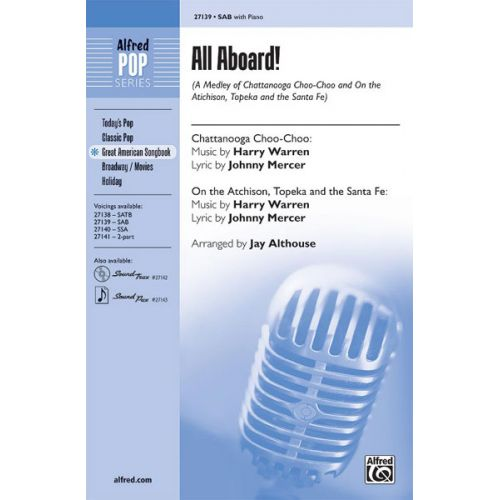 ALFRED PUBLISHING ALTHOUSE JAY - ALL ABOARD! - MIXED VOICES SAB