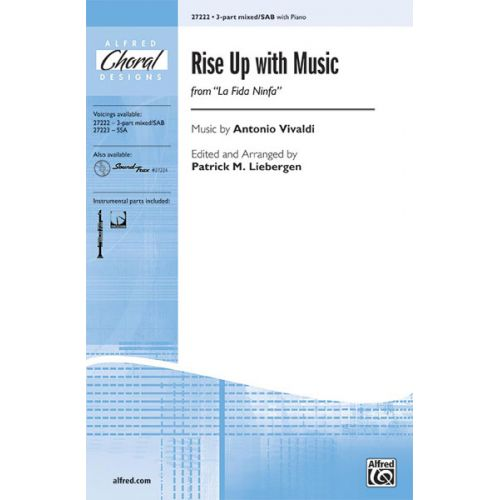 ALFRED PUBLISHING LIEBERGEN - RISE UP WITH MUSIC - MIXED VOICES SAB