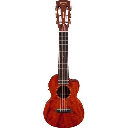 GRETSCH GUITARS G9126 A.C.E. GUITAR-UKULELE ACOUSTIC-CUTAWAY-ELECTRIC WITH GIG BAG OVKL FISHMAN KULA PICKUP HONEY MA
