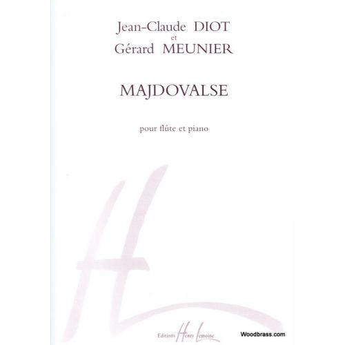 LEMOINE MEUNIER G./ DIOT J.C. - MAJDOVALSE - FLUTE, PIANO
