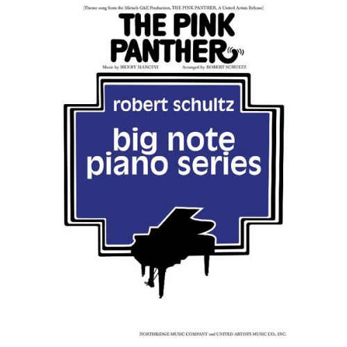 ALFRED PUBLISHING MANCINI HENRY - PINK PANTHER - PIANO SOLO