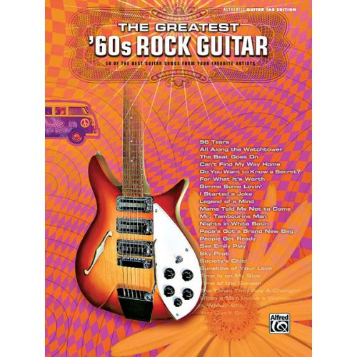 ALFRED PUBLISHING GREATEST '60S ROCK GUITAR - GUITAR TAB