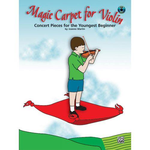 ALFRED PUBLISHING MARTIN JOANNE - MAGIC CARPET + CD - VIOLIN SOLO