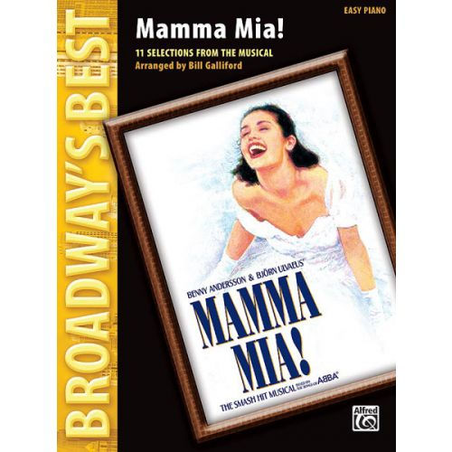 ALFRED PUBLISHING GALLIFORD B - BROADWAY'S BEST : MAMMA MIA - PIANO SOLO