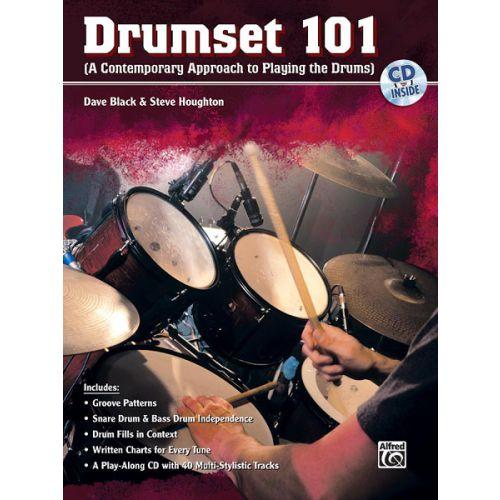 ALFRED PUBLISHING BLACK DAVE - DRUMSET 101 + CD - DRUM