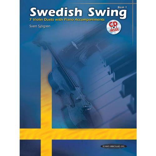 ALFRED PUBLISHING SJOGREN SVEN - SWEDISH SWING + CD - STRING QUARTET ,TRIO