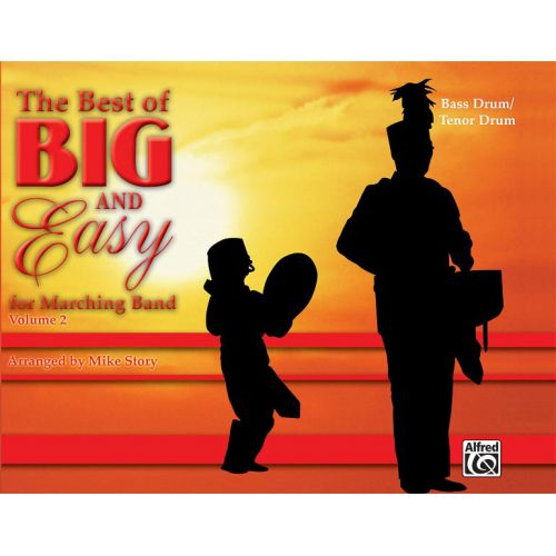 ALFRED PUBLISHING STORY MICHAEL - BEST OF BIG AND EASY II - TENOR DRUM