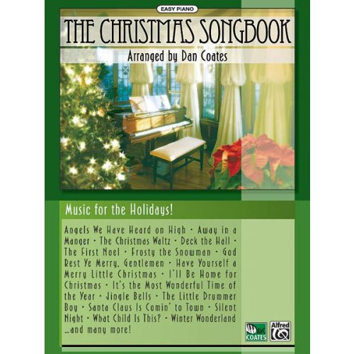 ALFRED PUBLISHING COATES DAN - CHRISTMAS SONGBOOK - PIANO SOLO