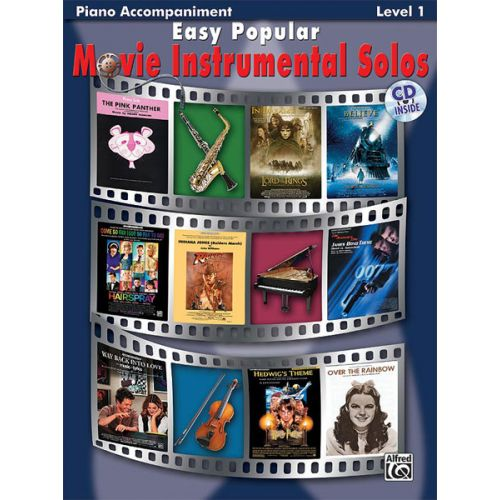 ALFRED PUBLISHING EASY POPULAR MOVIE SOLOS - PIANO SOLO