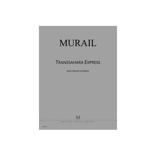 JOBERT MURAIL TRISTAN - TRANSSAHARA EXPRESS - BASSON ET PIANO