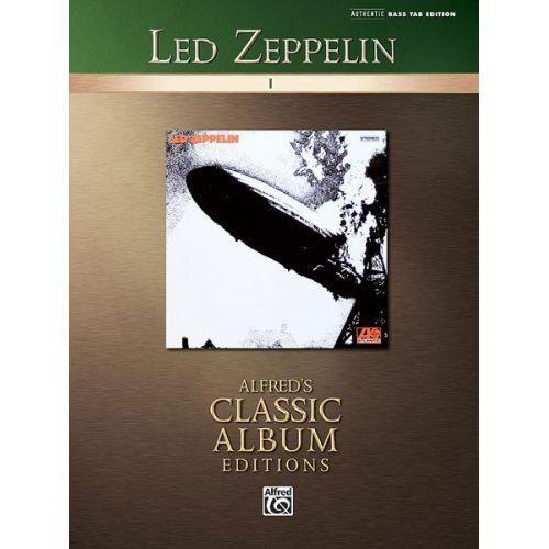 ALFRED PUBLISHING LED ZEPPELIN - LED ZEPPELIN I - BASS GUITAR TAB