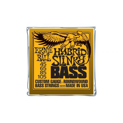 ERNIE BALL S PACK 2833 HYBRID SLINKY 45 105 (4 STRINGS)