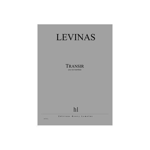 JOBERT LEVINAS MICHAEL - TRANSIR - 6 MARIMBAS