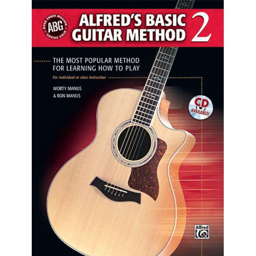 ALFRED PUBLISHING MANUS RON AND MORTY - ALFRED'S BASIC GUITAR METHOD 2 REV + CD - GUITAR