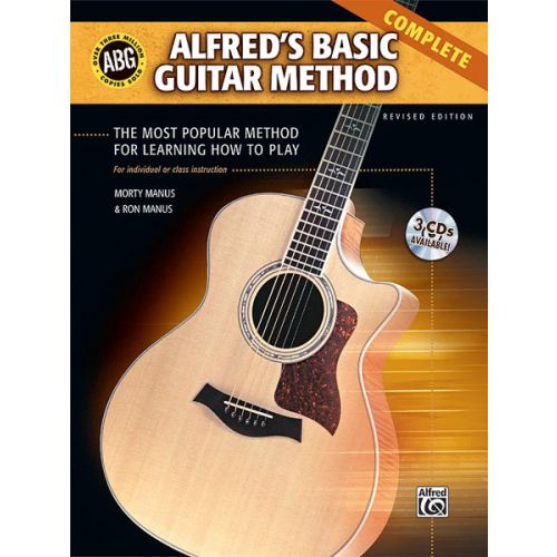 ALFRED PUBLISHING MANUS RON AND MORTY - ALFRED'S BASIC GUITAR METHOD - GUITAR