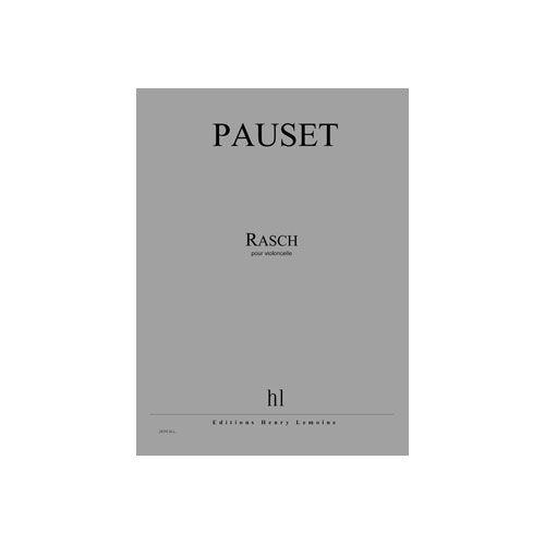 JOBERT PAUSET BRICE - RASCH - VIOLONCELLE