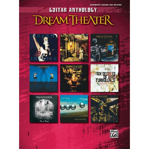 ALFRED PUBLISHING DREAM THEATER - DREAM THEATER GUITAR ANTHOLOGY - GUITAR TAB