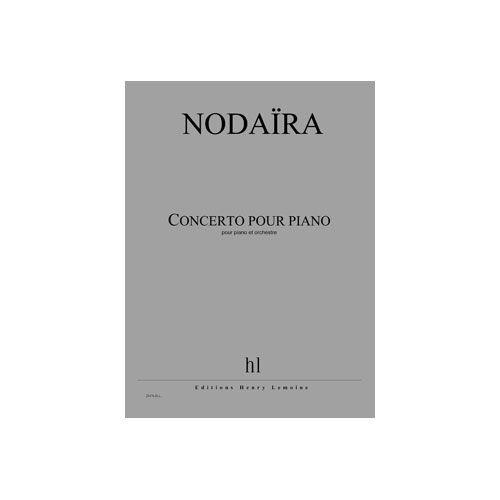 JOBERT NODAIRA ICHIRO - CONCERTO POUR PIANO - PIANO ET ORCHESTRE