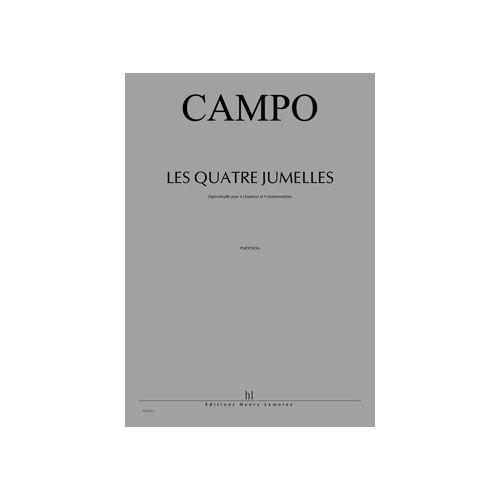 JOBERT CAMPO REGIS - LES QUATRE JUMELLES - 4 CHANTEURS ET 9 INSTRUMENTS
