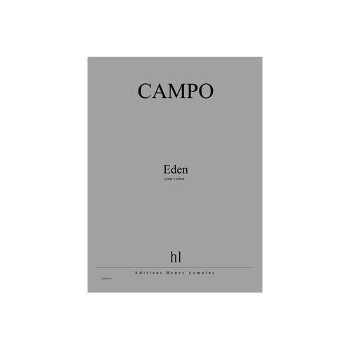 JOBERT CAMPO REGIS - EDEN - VIOLON