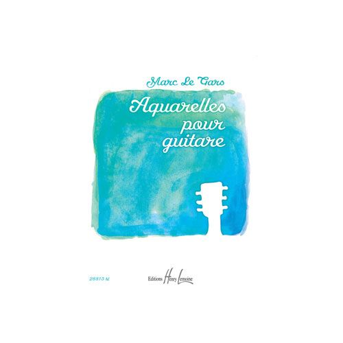 JOBERT LE GARS MARC - AQUARELLES VOL.1 - GUITARE