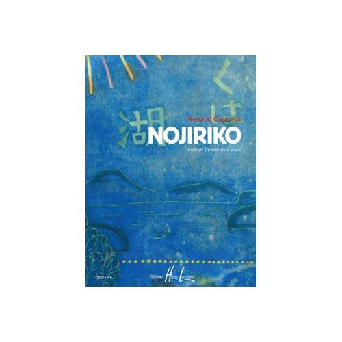 JOBERT GAGNEUX RENAUD - NOJIRIKO - PIANO