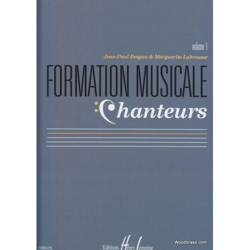 LEMOINE DESPAX J.P./LABROUSSE M. - FORMATION MUSICALE CHANTEURS VOL. 1