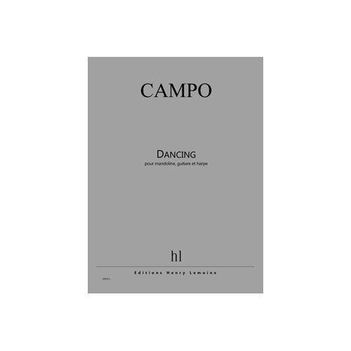 JOBERT CAMPO REGIS - DANCING - MANDOLINE, GUITARE ET HARPE