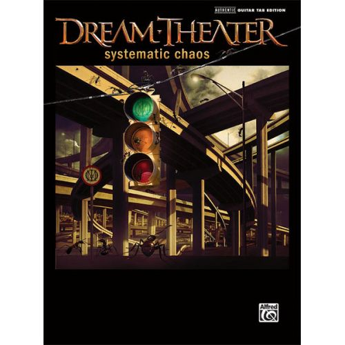 ALFRED PUBLISHING DREAM THEATER - SYSTEMATIC CHAOS - GUITAR TAB
