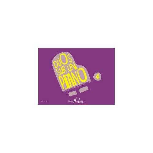JOBERT SALADIN DE NUGLAR M.J. / SURANYI BEATA - DUOS SUR UN PIANO VOL.4 - PIANO A 4 MAINS