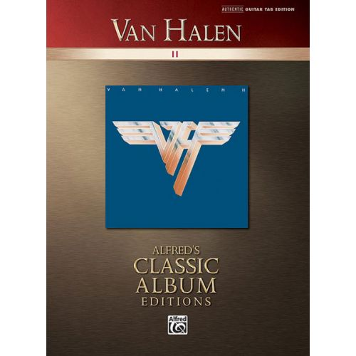 ALFRED PUBLISHING VAN HALEN - VAN HALEN II - GUITAR TAB