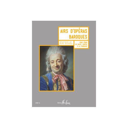 JOBERT VERSCHAEVE MICHEL - AIRS D'OPERAS BAROQUES - TENOR OU HAUTE-CONTRE A LA FRANCAISE ET PIANO