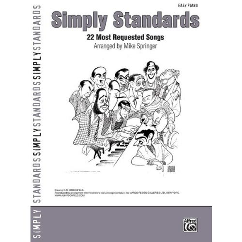 ALFRED PUBLISHING SIMPLY STANDARDS - PIANO SOLO