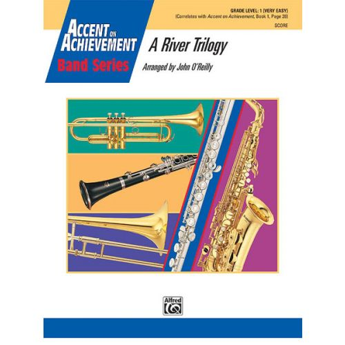 ALFRED PUBLISHING A RIVER TRILOGY - SYMPHONIC WIND BAND