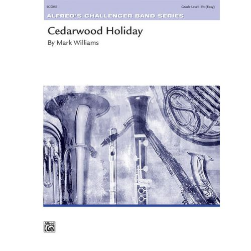 ALFRED PUBLISHING CEDARWOOD HOLIDAY - SYMPHONIC WIND BAND